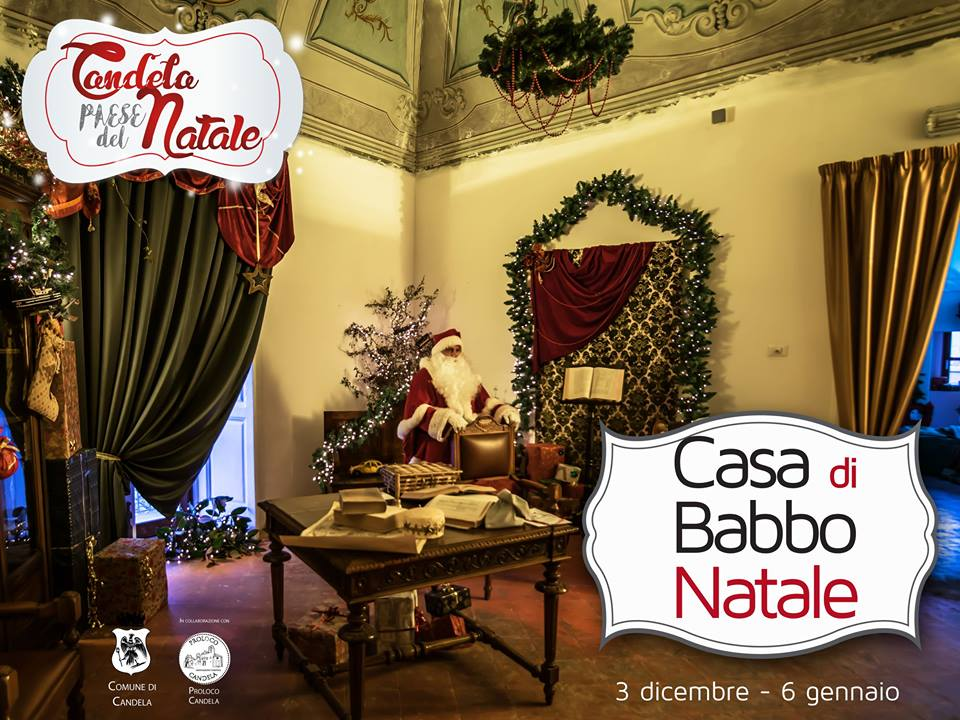 Casa Di Babbo Natale Candela.A Casa Nostra Casa Di Babbo Natale 2016 A Casa Nostra