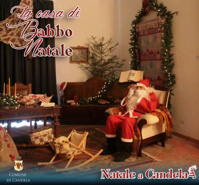 Casa Di Babbo Natale Candela.A Casa Nostra La Casa Di Babbo Natale Mercatini Di Natale 2015a